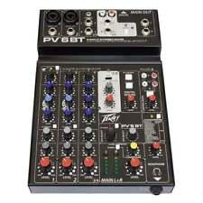 Peavey PV6 BT Mixer