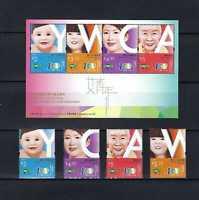 China Hong Kong 2020 Centenary of Young Women Christian YWCA stamp set