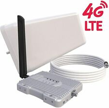 SolidRF 4G S2 Cell Phone Booster - Enhances Antenna Cell Phone Signal - Supports