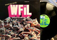 "WFIL PHILADELPHIA LP - "" SWEET AS CANDY "" - 16 TRACKS, VAR. ARTISTS, EX / VG+"
