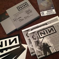 Nine Inch Nails *signed* And All That Could Have Been Deluxe CD