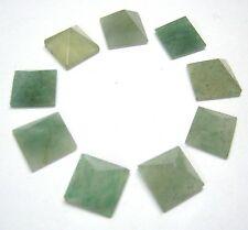 9 GREEN AVENTURINE QUARTZ CRYSTAL LOOSE PYRAMIDS HEALING GIFT BA GUA FENG SHUI