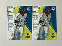 VLADIMIR GUERRERO JR LOT OF 2 2019 Topps Fire ROOKIE RC's #132! CHECK MY ITEMS!