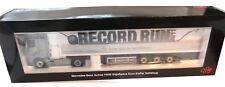 "MERCEDES BENZ Actros FH 25 ""Record Run"" Euro-Koffer Sattelzug NZG 862/03 1:50"