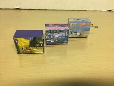 Fridolin - Lot of 3 crank Music Boxes - all working Ex/Nm