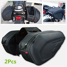 High Quality Motorcycle Luggage Saddle Bags Pannier Bags With Rain Cover 36-58L