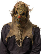 Morris Costumes Halloween Horror Vinyl Scarecrow Natural Mask One Size. FW93203N