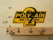 STICKER,DECAL POLY-AIR 2 DOUBLE FOAM-AIR FILTERS HOLLAND OSS