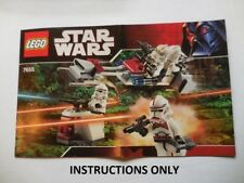 INSTRUCTIONS Lego Star Wars 7655 Clone Troopers  Instructions Only NEW Original