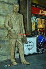 PHOTO  STATUE OF SIR NIGEL GRESLEY AT KINGS CROSS YOU KNOW THE CONTROVERSY THE G