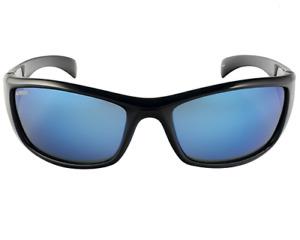 Spotters ARTIC -Gloss Black Frame Ice Blu Lens Glass Polarised Sunglasses Unisex