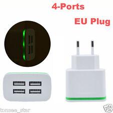 5V/4A LED USB Travel AC Wall Ladegerät aufladen Netzteil For iPhone Samsung EU