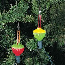 KURT S. ADLER 7 LIGHT CLASSIC BUBBLE LIGHT SET RETRO NOVELTY CHRISTMAS LIGHTS