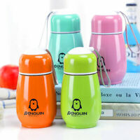 300ML VACUUM FLASK OUTDOOR THERMAL CUP PENGUIN COFFEE SPORTS WATER BOTTLE MUG GT