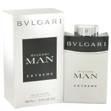 Bvlgari Man Extreme 3.4 oz / 100ml EDT Eau De Toilette Spray Men Perfume Cologne