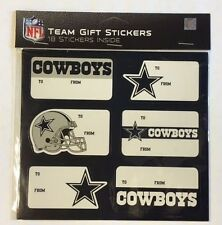 Dallas Cowboys Christmas Present Name Labels - Team Gift Stickers - To/From