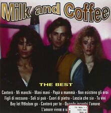 MILK AND COFFEE - THE BEST  CD CANZONE ITALIANA