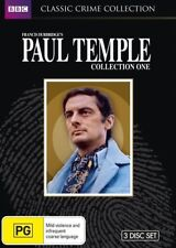 Paul Temple:Collection 1 (DVD,2012, 3-Disc Set)-REGION 4-Brand new-Free postage