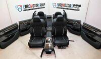BMW Comfort Pelle Sedili Interni IN Pelle 7er G11 Nappa Nero
