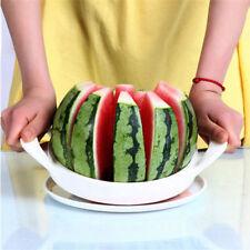 Watermelon Cantaloupe Divider Slicer Fruit Cutter Metal Blade Kitchen Tool KT008