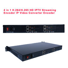 4 in 1 H.264/H.265 High Definition HD Live Broadcast Streaming IP Encoder