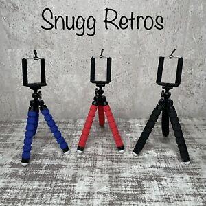 📸 Universal Mini Small Phone Tripod Stand Flexible Foam📱 Camera iPhone Samsung