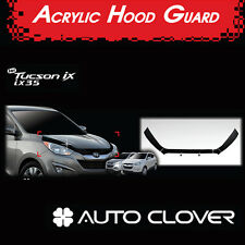 Acrylic Front Hood Guard Deflector Bug Shield for 2010 2014 Hyundai Tucson ix35