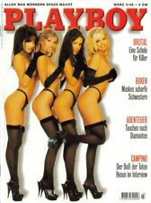Playboy März/03/1996  Playboys Lingerie-Girls & MELANIE ANSCHÜTZ*