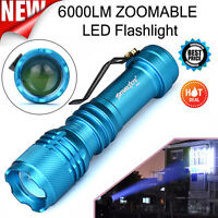 Super Bright 6000LM CREE Q5 AA/14500 3 Modes ZOOMABLE LED Flashlight Torch Lamp