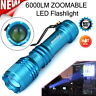 6000LM Super Bright Q5 AA/14500 3 Modes ZOOMABLE LED Flashlight Torch Lamp