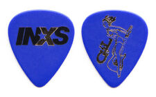 INXS Blue Guitar Pick - 1997 Elegantly Wasted Tour