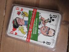 Skat Karten - politisch - Wilhelm Hartung - neu / unbenutzt