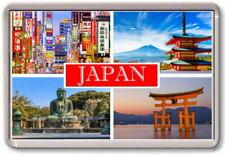 FRIDGE MAGNET - JAPAN  - Large - Asia Tokyo TOURIST