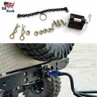 Metal Tow Shackle Trailer Hook For SCX10 Traxxas TRX4 1/10 RC Crawler Car