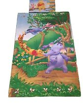 Winnie The Pooh Vintage Single Quilt Cover And Pillow Case