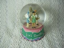 "Girl Scouts of the United States Snow Globe 2006 Daisies Brownies 4 1/2"" RARE"