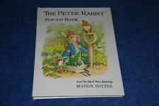 The Peter Rabbit Pop-up Book by Beatrix Potter (1983, Hardcover)
