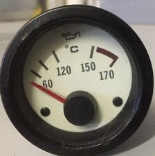 MG Rover MGF OIL TEMPERATURE GAUGE  WHITE FACE.