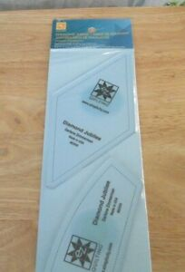 New Shrink Wrapped EZ Diamond Jubilee Quilting Template