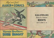 MARCH OF COMICS 75 BUGS BUNNY RARE GIVEAWAY PROMO VF+ 1951 SHOE PROMOTIONAL