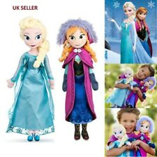 "Frozen 16"" Plush Elsa & Anna Cute Ragdoll Doll Figure Soft Toy Set of 2"