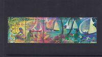 COCOS Islands 1999 HARI RAYA PUASA Festival STRIP  set of 5 MNH. -