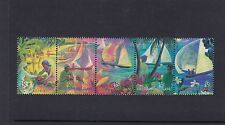 COCOS Islands 1999 HARI RAYA PUASA Festival STRIP  set of 5 MNH. -