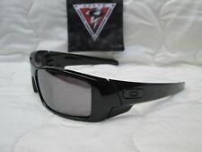 USED Custom Oakley GASCAN SI Polished Black /w Prizm Black Polarized Lens.