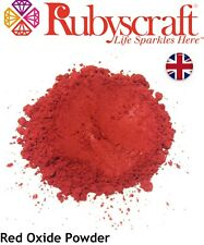 More details for red iron oxide powder (fine pure rust powder, high purity) ceramics cement