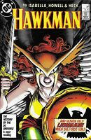 Hawkman Comic 6 Copper Age First Print 1987 Isabella Howell Heck Wolfman DC