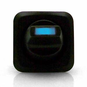 12V 15A 3 pin Square Rocker Toggle Switch BLUE LED auto ss drag race scta ratrod