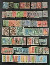 ST VINCENT STAMPS SELECTION ON LARGE STOCK CARD (B216)