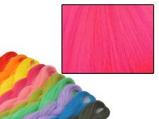 CYBERLOXSHOP PHANTASIA KANEKALON JUMBO BRAID NEON FUCHSIA PINK HAIR DREADS