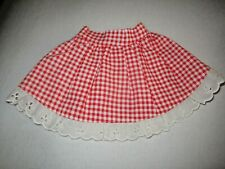 Fisher Price Mary Lapsitter Doll'S Original Skirt.Excellent Condition